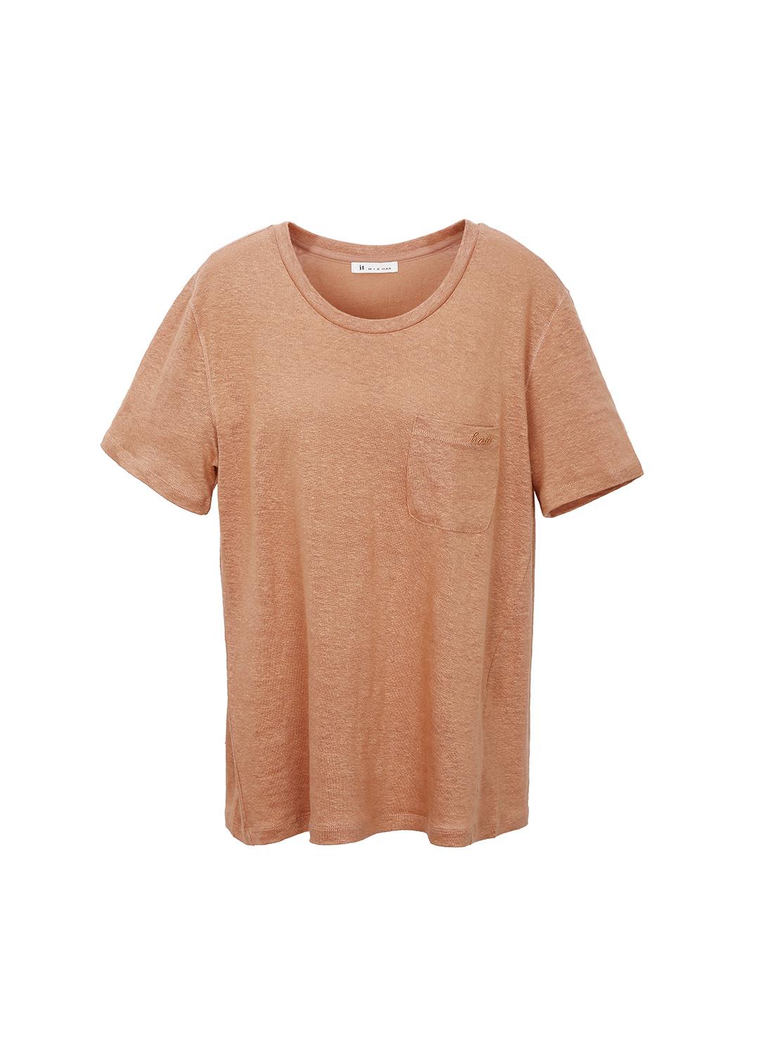 베이직 린넨 티셔츠