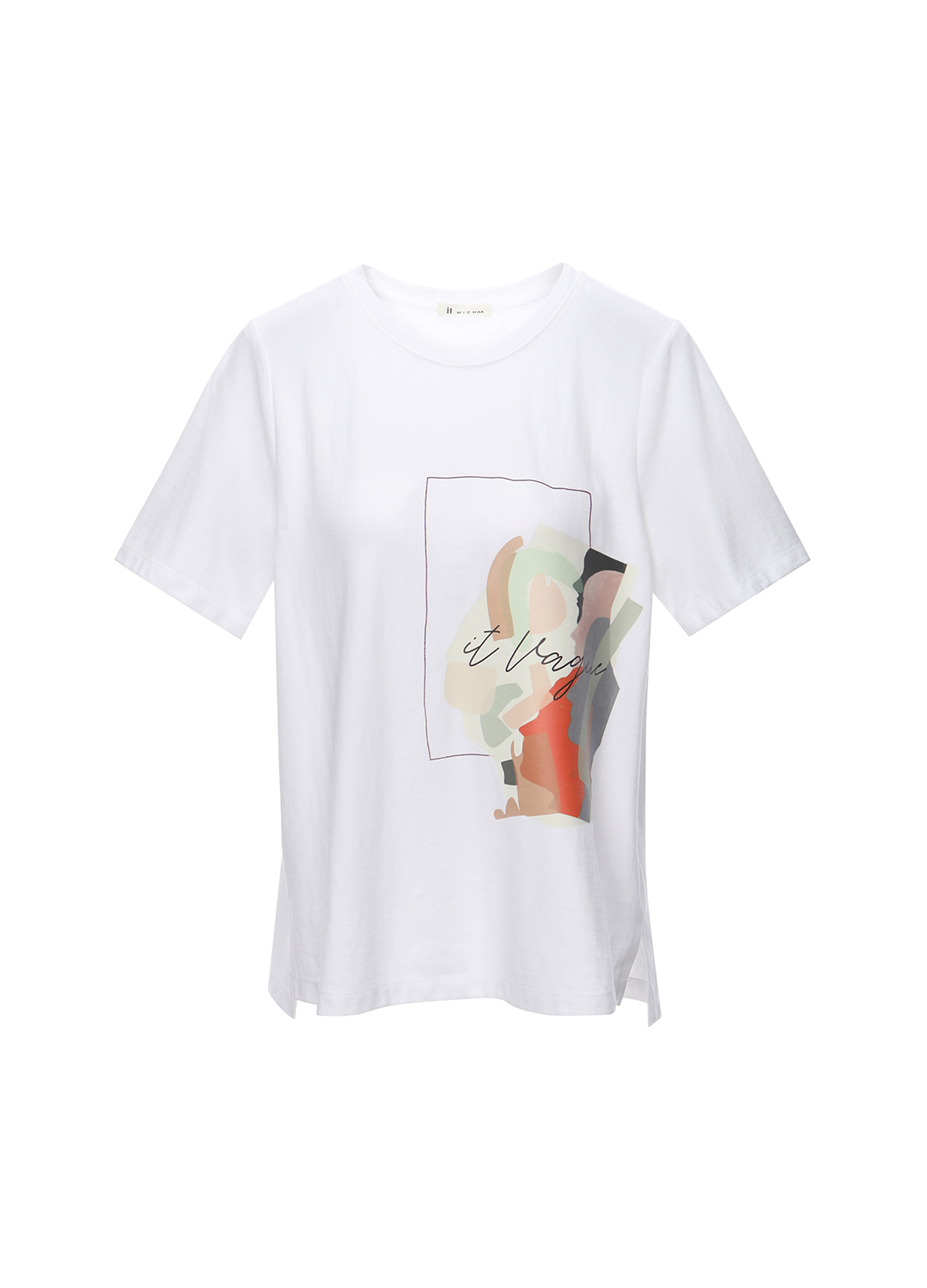 [#Color Like Me] 그래픽 프린트 티셔츠