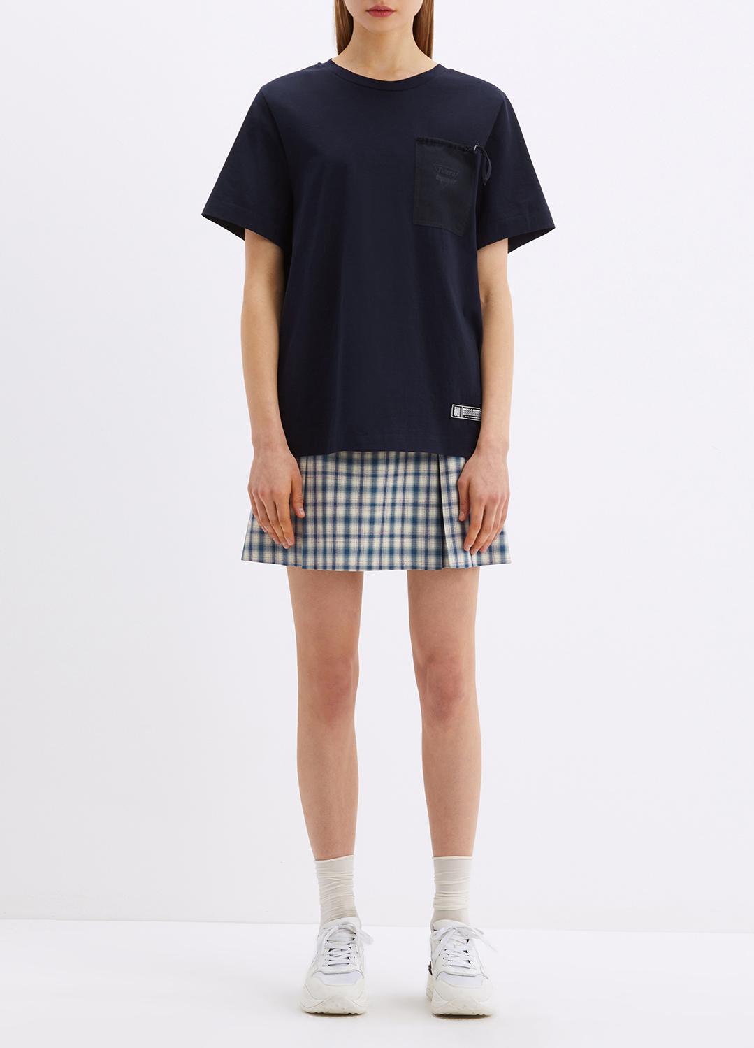[ONLINE EXCLUSIVE]  코튼 유토피아 백 프린트 티셔츠