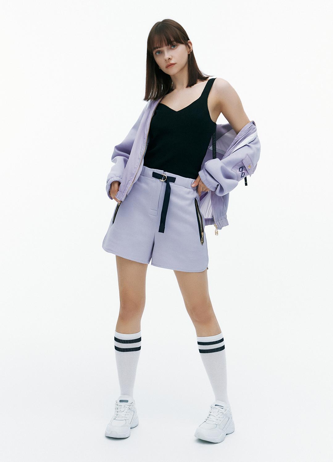 [FAD]Waist banding short pants