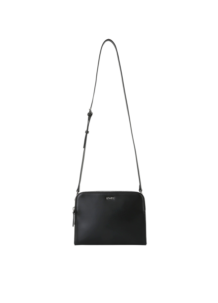Cube Zipper Shoulder Bag