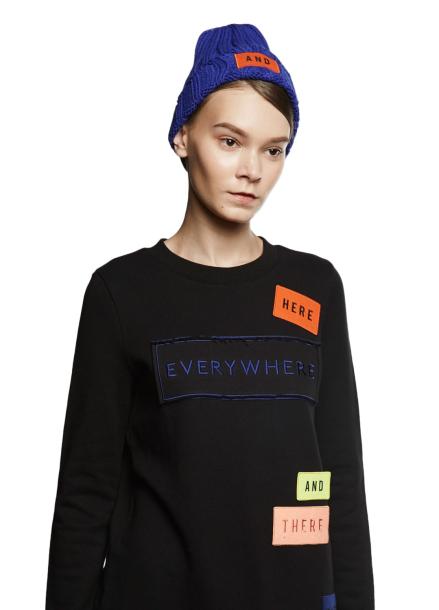 [ATICLE/70%SALE]Wappen Point Long Sweatshirt_BLACK