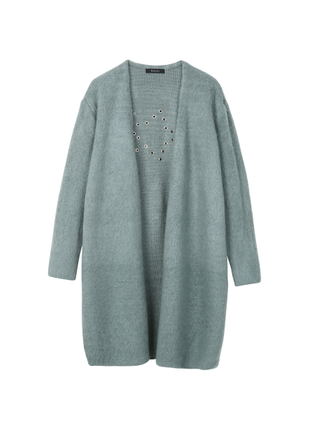 Punch Point Open Cardigan