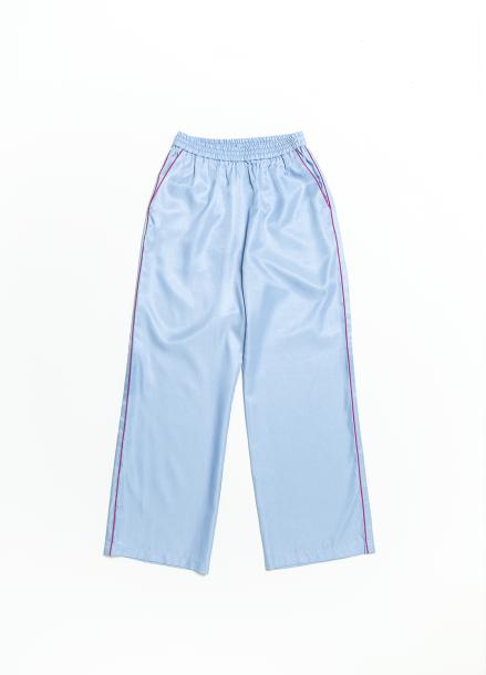 [CROQUIS GLOW] PJ WOMENS SKIN PANTS-RETRO BLUE