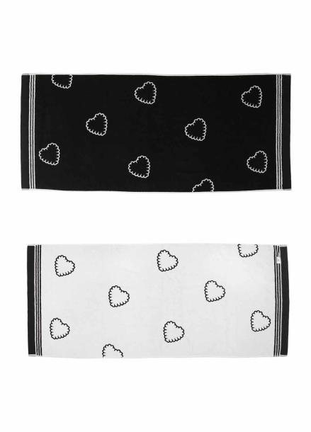 [30%] margarinfingers X i hate monday_heart beach towel