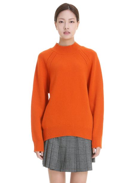 Wool-Blend Half Neck Pullover [이연희 착용]