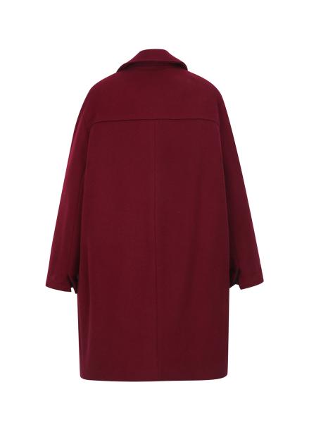 ☆ Wide Collar Wool-Blend Coat (당일배송)