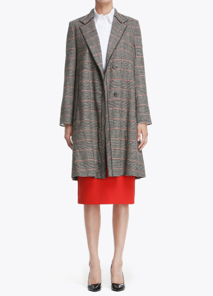 Check Patterned Basic Outer