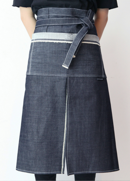 [SAFE SUNDAY] 3Poket Apron_Denim