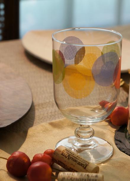 [& MIX] Portofino Orange Goblet