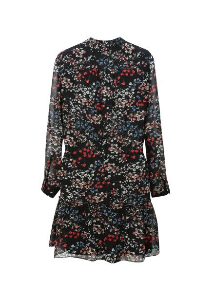 ◆Flower Patterned Chiffon Dress [주문폭주]