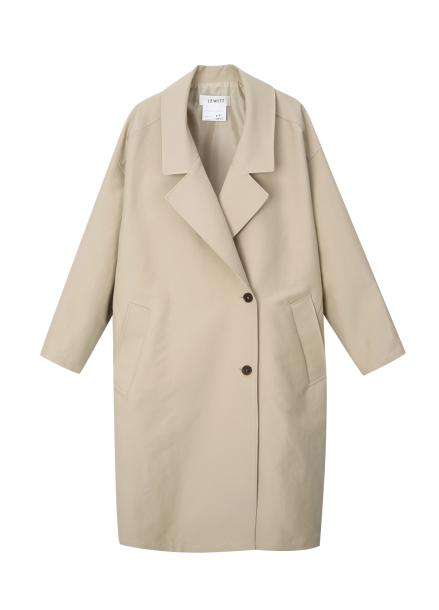 Oversized Basic Trench Coat