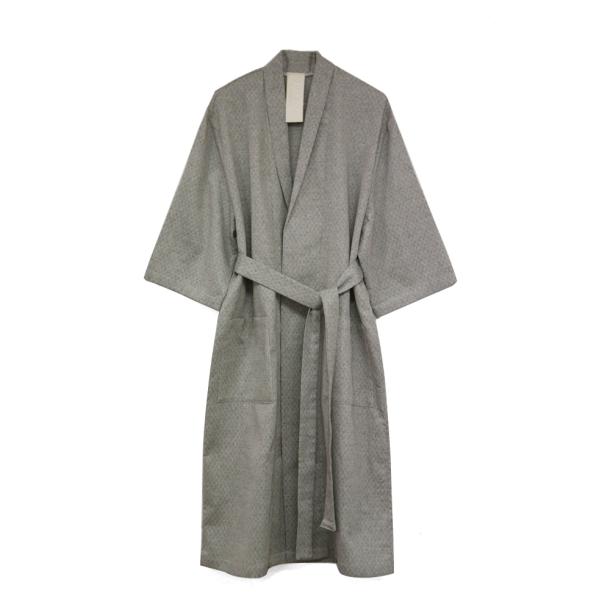 [SAFE SUNDAY/30%SALE] Homewear Robe_Jacquard Brown