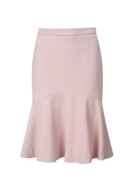 ◆ Wool Blend Mermaid Flare Skirt