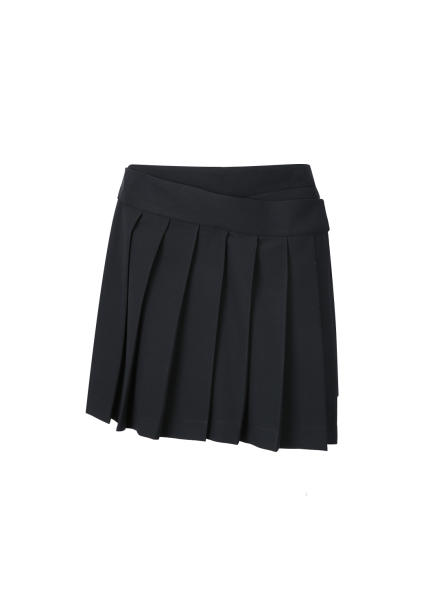 Pleats Wrap-Skirt Shorts [이시영 착용]