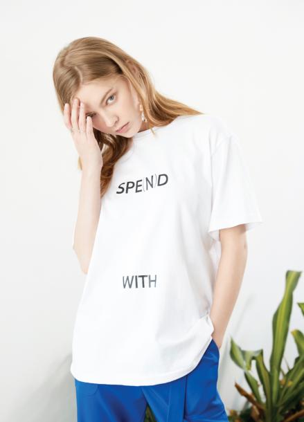 [이세영,박솔미 착용] Spend T- shirt White