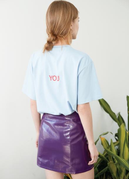 Spend T- shirt Blue