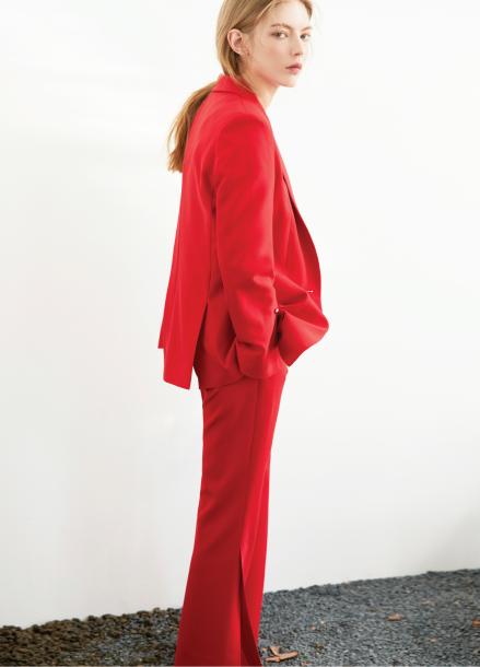 [S/S 30%할인/박신혜,송해나 착용] slit pants Red