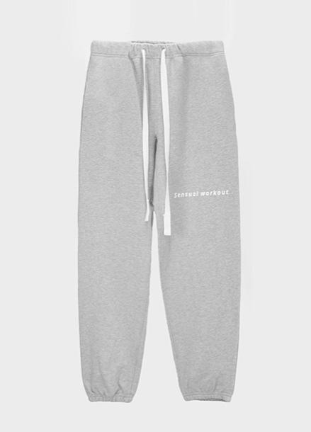 [ATICLE/50%SALE] Ribbon Tape Point Basic Sweatpants_MG