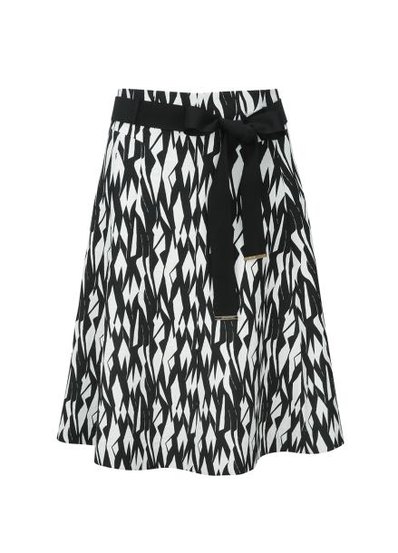 Print Flare Midi Skirt [조여정/엄현경 착용]
