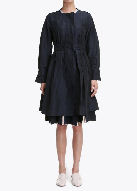 Linen-Blend Dress Style Outer