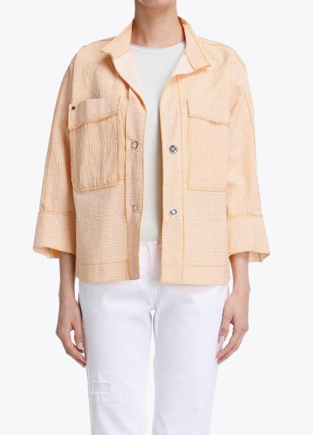 Cotton-Blend Pocket Point Short Outer