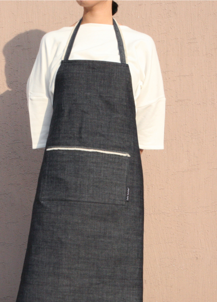 [SAFE SUNDAY] Apron_Denim