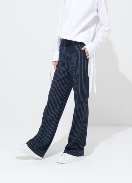 [30%] STRIPE HIGH_WAIST PANTS