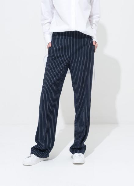 [봄세일 20%] STRIPE HIGH_WAIST PANTS