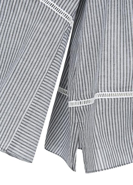 Stripe Off-Sholder Blouse