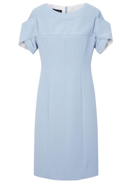 Sleeve Slit Long Dress