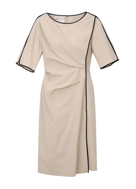 Half Sleeve Colorline Dress