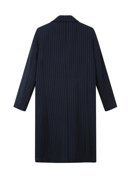 ★ Stripe Single Long Jacket
