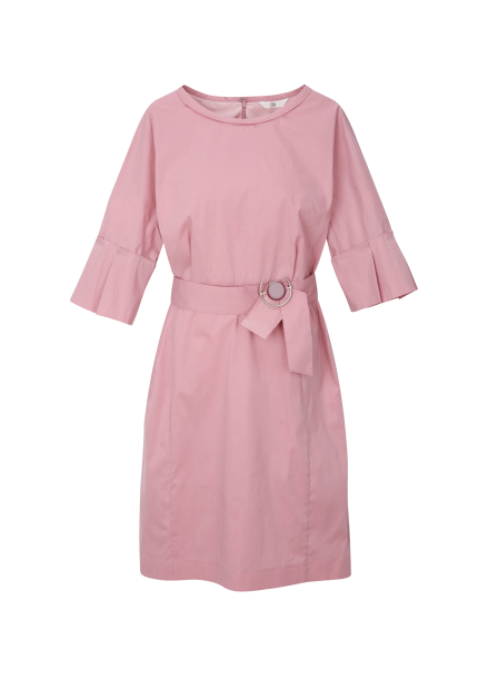 ◆ Pleats Sleeve Dress