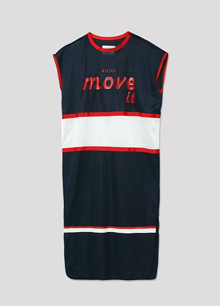 [ATICLE/50%SALE]Basketball Mesh Dress_NY