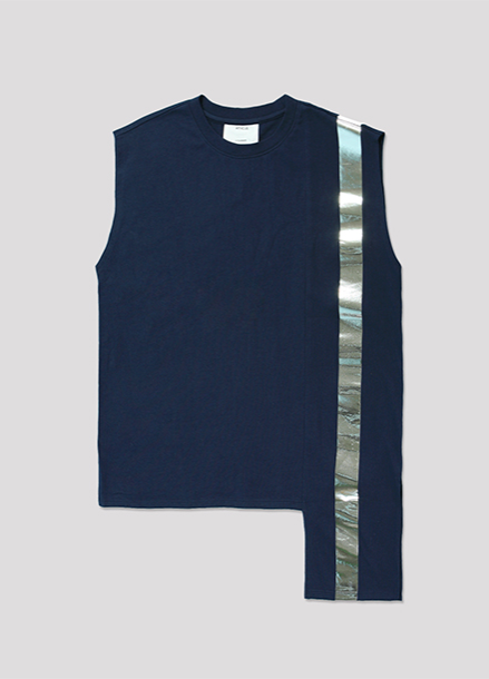 [ATICLE/50%SALE]Color Block Sleeveless Top_NY