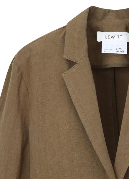 ★ Linen Single Jacket