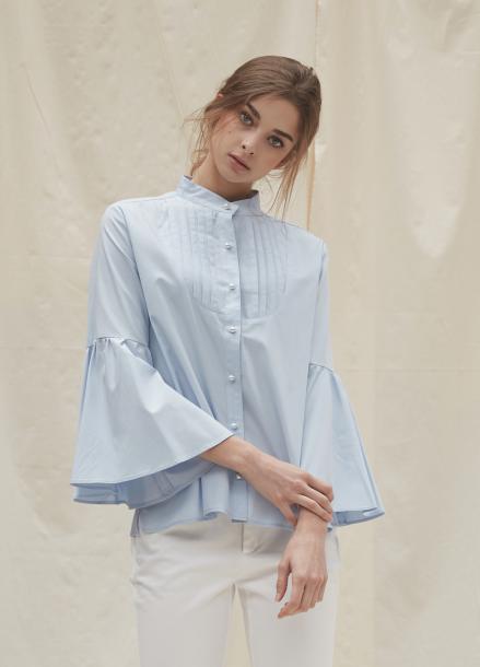 [YouNess/신상10%] Bell Sleeve Shirt
