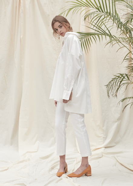 [YouNess/신상10%] Organic Oversize Shirt