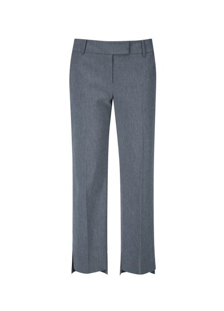 Slit Straight Fit Basic Pants