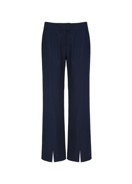 Front Slit Straight Fit Pants