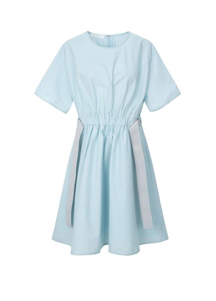 Waist Strap Detail Dress