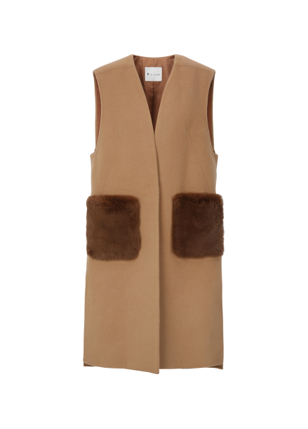 Real Fur Handmade Vest