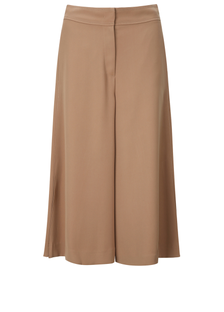 Wide Cropped Side Detail Pants