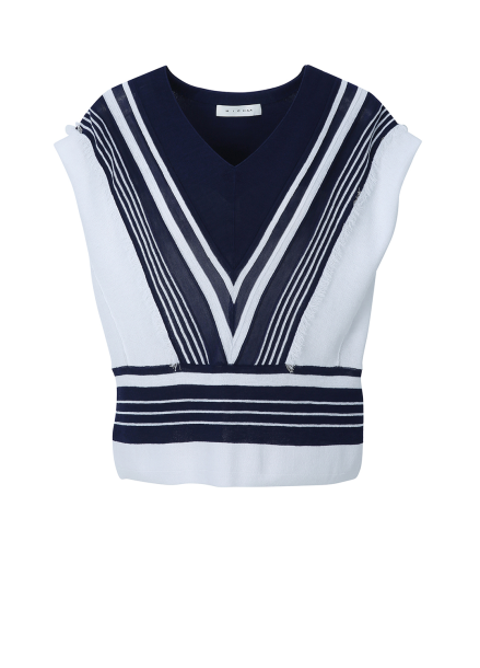 V-neck Sleeveless Pullover