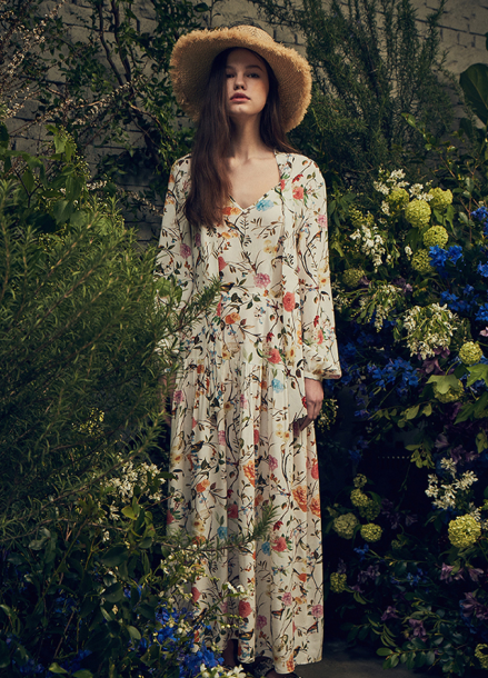 [LAFETE]Garden dress