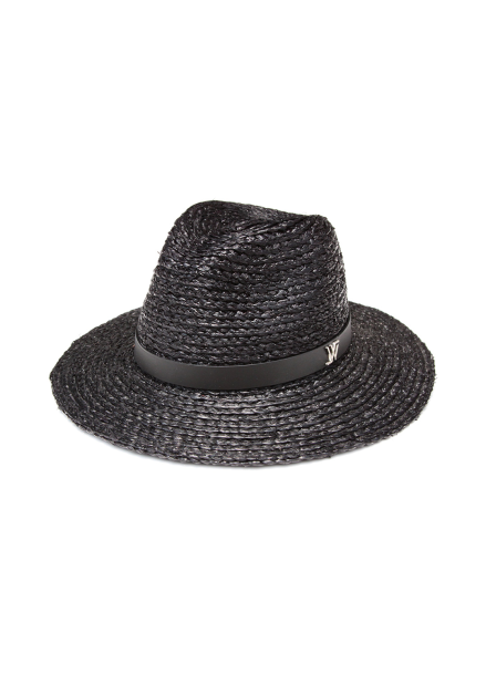 [WHITE SANDS/신상20%SALE] RAFFIA NEW CLASSIC HAT WS17-016EBK