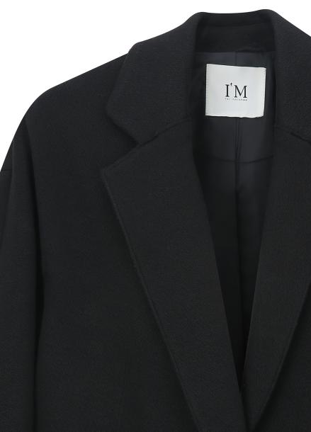 ◆ Sleeve Pearl Detail Long Jacket