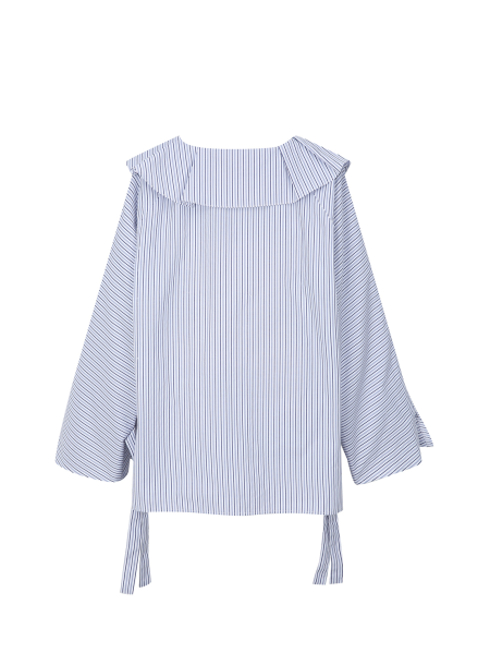 ◆ Cotton Blend Frill Detail Blouse [예약판매/9월28일 입고예정]