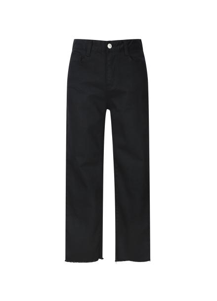 ★ Black Cutting Jeans